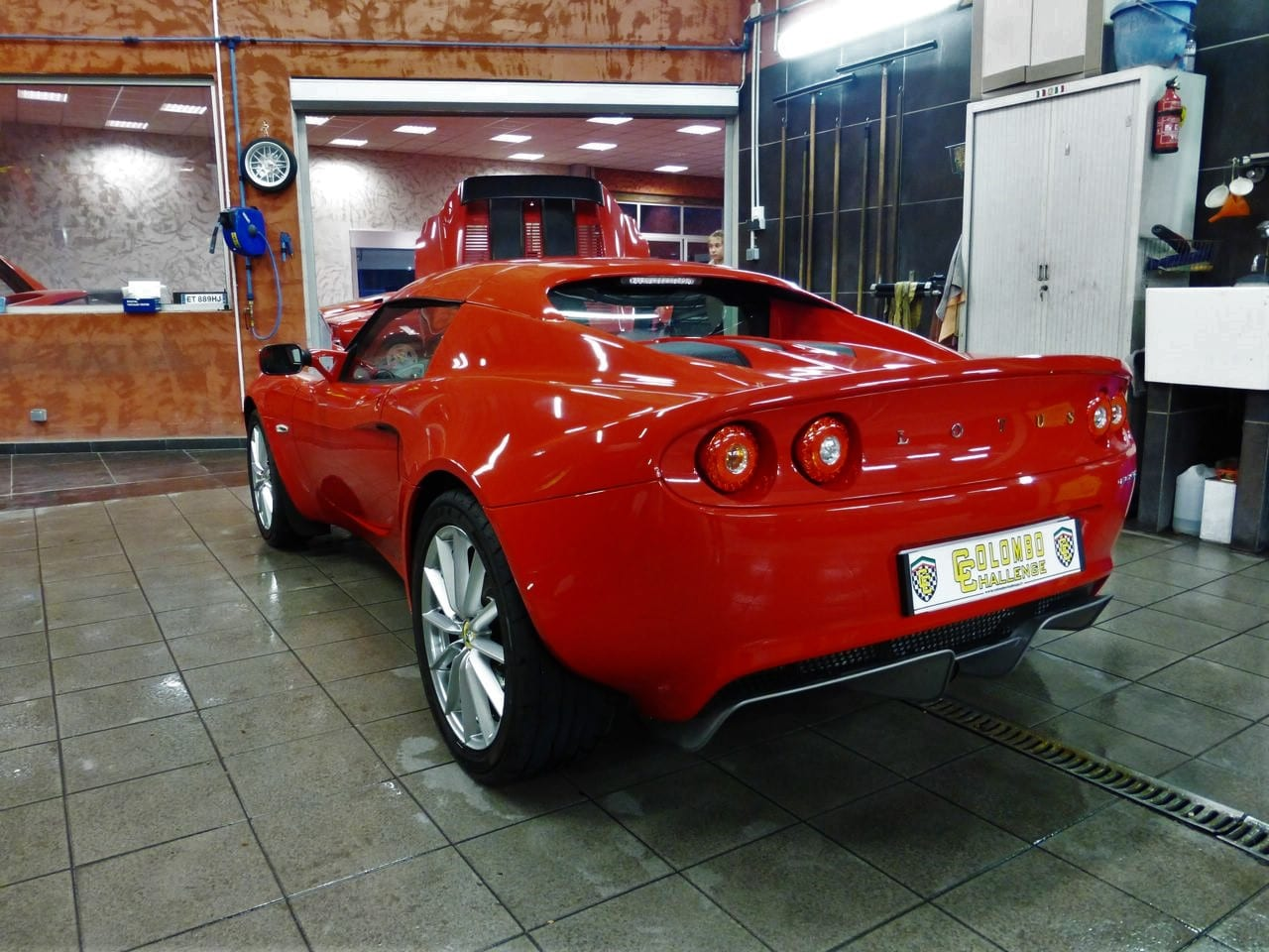 Lotus Elise 1 6 136 Ch Solid Red Colombo Challenge