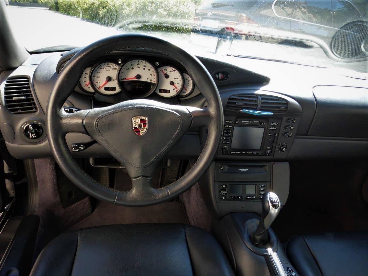 porsche 996 turbo  phase 1  - boite m u00e9canique